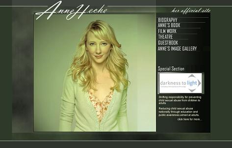 Anne HECHE Official Website